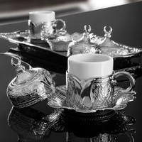 Sena Lalezar Kahve Takımı İki Kişilik H 11