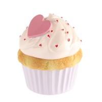 Kanca Ev Eflatun Mini Kutu Cup Cake Pembe Kremalı