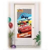 Cars Kapı Banner - Kapı Afişi