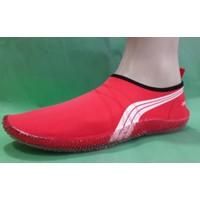 Ahs Deniz Ayakkabısı ( Çizgili Kırmızı )