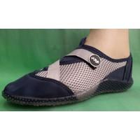 Ahs Fileli Deniz Ayakkabısı ( Lacivert - Gri )
