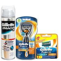 Gillette Fusion Proglide Power Flexball + 5 Yedek Bıçak + Jel