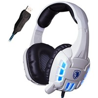 Sades Sa718 Surround Ses Titreşimli Işıklı Oyuncu Kulaklığı + 1600 DPI MousePadli Oyuncu Mouse