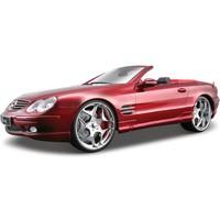 Maisto Mercedes Sl 55 Amg Convertible 1:18 Model Araba A/S Kırmızı