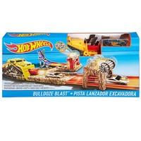 Hot Wheels Bulldoze Blast Yarış Seti