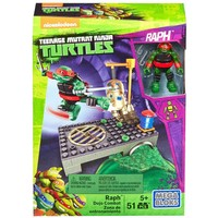Mega Bloks Ninja Kaplumbağalar Lair Training Raph Oyun Seti
