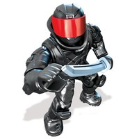 Mega Bloks Ninja Kaplumbağalar Foot Soldier 2 Micro Figür