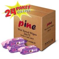 Pine Islak Havlu - 24 Paket , 1728 Adet