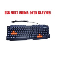 Kerasus Kl-125 Multimedia Usb Klavye