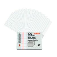 Herlitz Kartoteks 100 Çizgili Beyaz A7 705