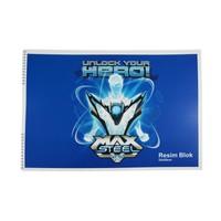 Max Steel Sp.Resim Blok 120 Gr.35*50 Ms2093