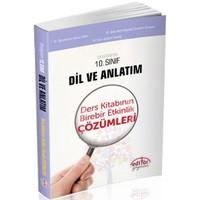 Editör Yayınları 10.Sınıf Dil Ve Anlatım Ders Kitabı Birebir Etkinlik Çözümleri