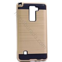 Case 4U LG Stylus 2 Korumalı Kapak Altın
