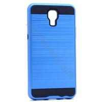 Case 4U LG X Screen Verus Korumalı Kapak Mavi
