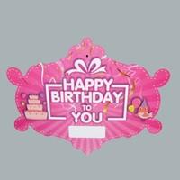 Tahtakale Toptancısı Kapı Süsü Happy Birthday To You