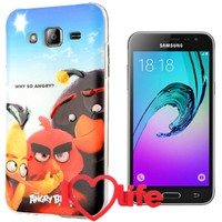 CoverZone Samsung Galaxy J5 Kılıf Angry Birds Why So Angry + 3d Araç Kokusu