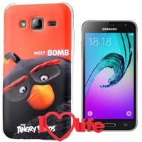 CoverZone Samsung Galaxy J5 Kılıf Angry Meet Bomb + 3d Araç Kokusu