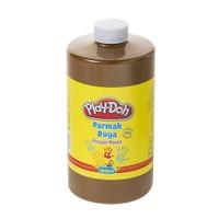 Play-Doh Parmak Boya 1 Lt Kahverengi PLAY-PR029