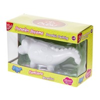 Bubu Porselen Boyama Dinazor Kumbara BUBU-PB0010