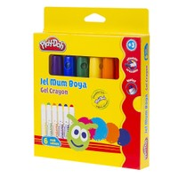 Play-Doh 6 Renk Jel Crayon PLAY-CR013