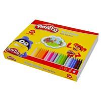 Play-Doh 12 Renk Keçeli Kalem 2Mm 144'Lü Set PLAY-KE014