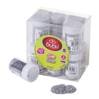 Bubu Sim Gümüş Rengi 8Gr 12'Li Pvc BUBU-SM0003