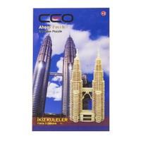 Ceo 3D Ahşap Puzzle İkiz Kuleler CEO-AP0006