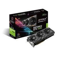 Asus ROG STRIX Nvidia GeForce GTX 1080 8GB OC 256Bit GDDR5X (DX12) PCI-E 3.0 Ekran Kartı STRIX-GTX1080-A8G-GAMING