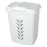 Elif Plastik Plastik Kirli Çamaşırlık 47 Lt Beyaz