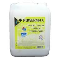 Powermax Beyaz Sabun Kokulu Genel Temizlik Sıvısı 5Kg