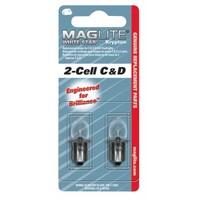 Maglite LWSA201 2C & 2D Ampul