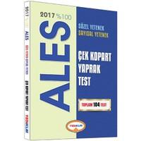Yediiklim Yayınları Ales 2017 Sayısal Sözel Yetenek Çek Kopart Yaprak Test