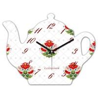 Clockmaker By Cadran 30x25 MDF Demlik Duvar Saati CMM211