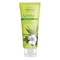 Avon Care Aloe ve Pamuk Özlü Yüz Maskesi - 75ml