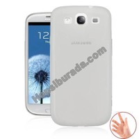 Teknomeg Samsung Galaxy S3 Şeffaf Silikon Kılıf
