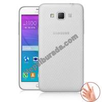 Teknomeg Samsung Galaxy Grand Max Şeffaf Silikon Kılıf