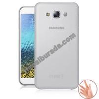 Teknomeg Samsung Galaxy E5 Şeffaf Silikon Kılıf