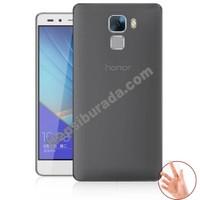 Teknomeg Huawei Honor 7 Füme Silikon Kılıf