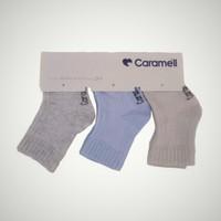 Caramell 3'lü Soket Çorap
