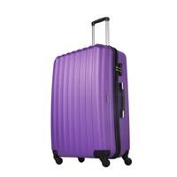 Ground Büyük Boy Valiz 4 Tekerlekli Bavul Mor 10522
