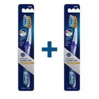 Oral-B Diş Fırçası Clinic Line Pro-Flex 35 Yumuşak x 2 Adet
