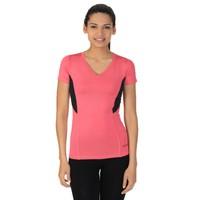 Sportive V Yaka Kadın T-Shirt