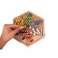 Hepsi Dahice Hexagon Çin Daması Ve Solo Test