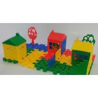 Hepsi Dahice 36 Parça Ev Yapalı Lego Seti