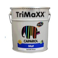 Filli Boya Caparol TriMaxx Mat Sentetik Boya 0.75 lt Siyah