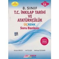 Esen Yayınları 8. Sınıf T.C. İnkılap Tarihi Ve Atatürkçülük Üçrenk Soru Bankası