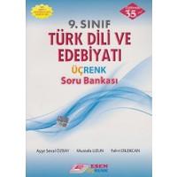 Esen Yayınları 9. Sınıf Türk Dili Ve Edebiyatı Üçrenk Soru Bankası