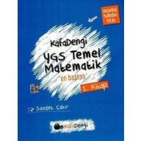 Eksen Yayınları Ygs Kafa Dengi Temel Matematik En Baştan Soru Bankası 1. Kitap