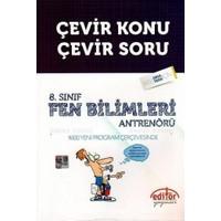 Editör Yayınları 8. Sınıf Fen Bilimleri Antrenörü Çevir Konu Çevir Soru