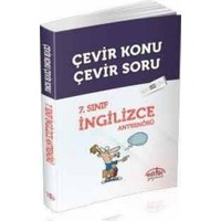 Editör Yayınları 7. Sınıf İngilizce Antrenörü Çevir Konu Çevir Soru